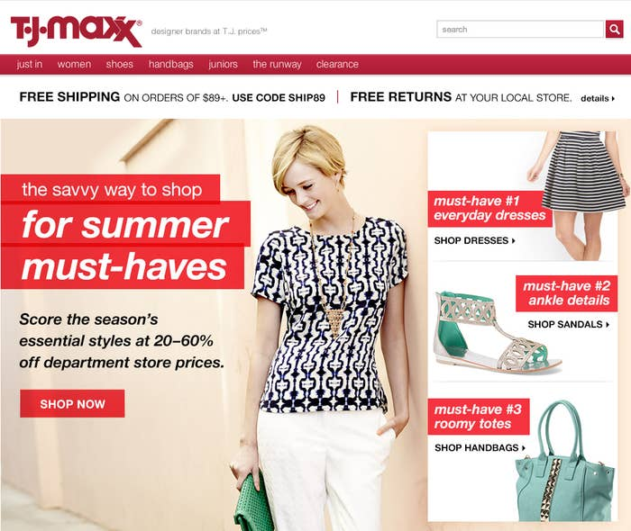 The Company That Owns T J  Maxx And Marshalls Is Now Almost Bigger