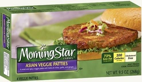 MorningStar Farms Asian Veggie Patties