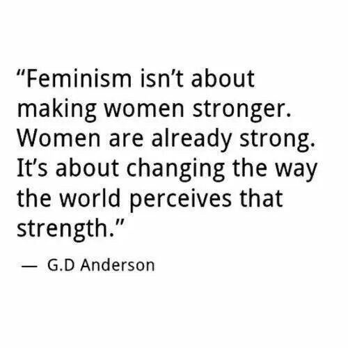 Image result for quote about feminism