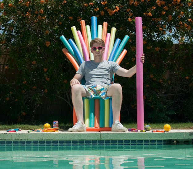 10 cool game of thrones chair ideas for Iron throne bean bag