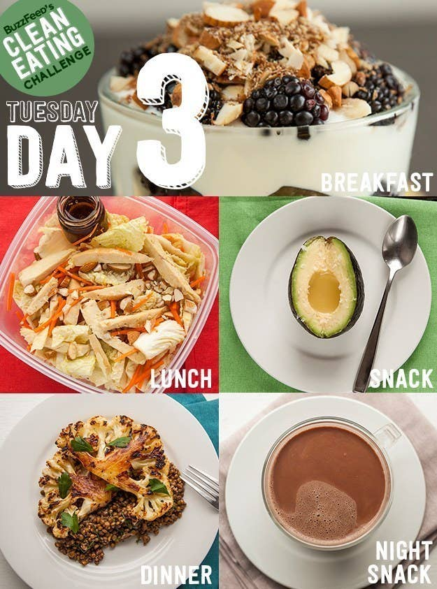 Take buzzfeeds clean eating challenge feel like a champion at life roasting cauliflower as quotsteaksquot like youx27ll do for this forumfinder Gallery