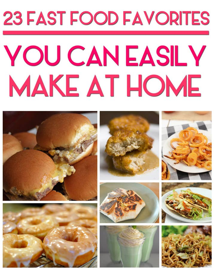 23 copycat recipes for your favorite fast foods share on facebook share forumfinder Image collections