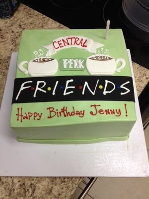 10 Friends Themed Cakes