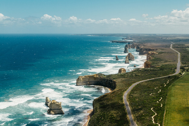 Drive the Great Ocean Road and visit the Twelve Apostles.