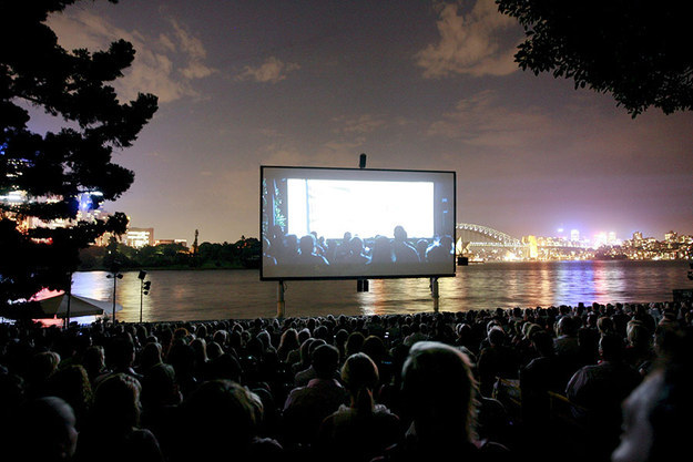 Enjoy an open-air cinema... in January.