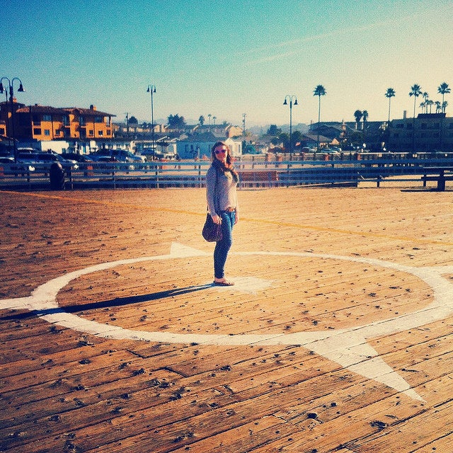 Ellie in Pismo Beach, CA.