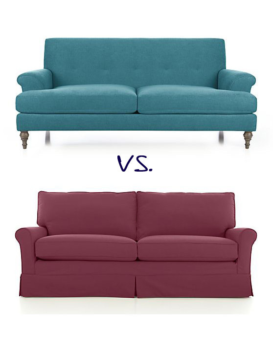 Instead Of A Sofa With A Skirt Or Boxy Chairs, Bigger Pieces With Exposed  Legs