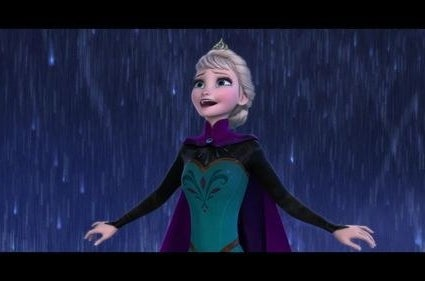 """Elsa belts out """"Let It Go"""""""