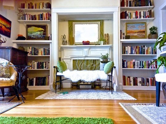 Use Rugs To Separate One Room Into Smaller Spaces.