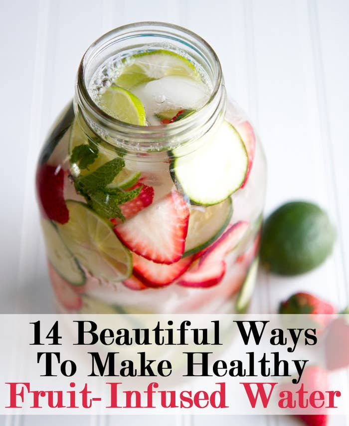 14 Beautiful Fruit Infused Waters To Drink Instead Of Soda