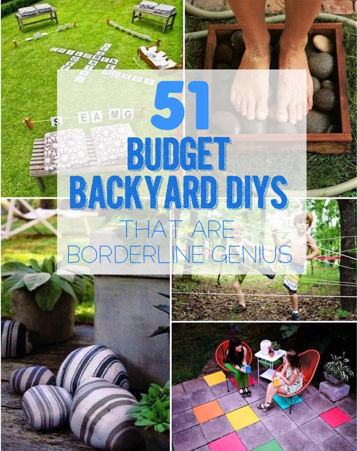 Beautiful 51 Budget Backyard DIYs That Are Borderline Genius OA14