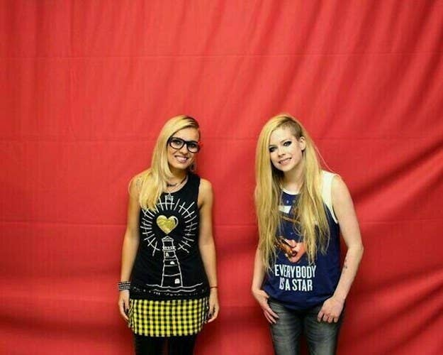 A rihanna meet and greet vs an avril lavigne meet and greet an avril lavigne meet and greet m4hsunfo