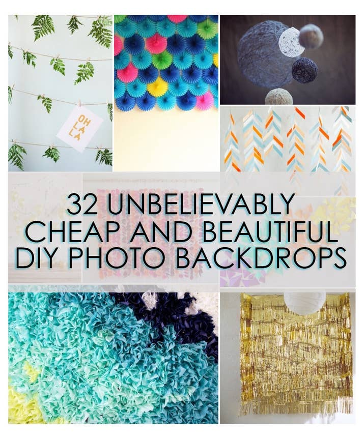 32 unbelievably cheap and beautiful diy photo backdrops designlovefest youaremyfave solutioingenieria Gallery