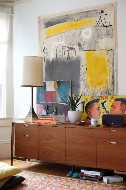Use Dramatic Art Pieces To Make A Room Feel More Expansive.