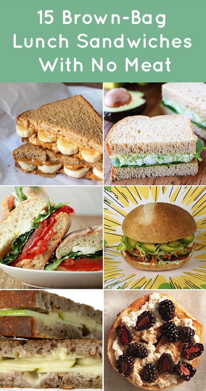 Easy sandwich recipes for school