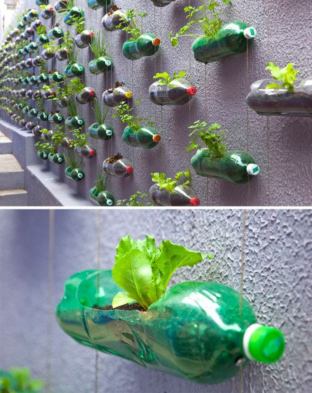 15 creative ways to reuse plastic bottles for Creative use of waste plastic bottles