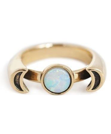 13 Unconventional Engagement Rings For The Alternative