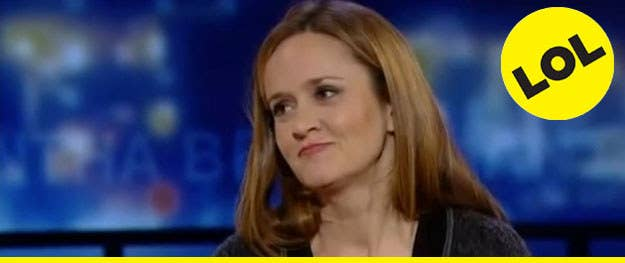 """Video of 20 comedians who could take over """"The Colbert Report""""— including the beautiful, amazing, and (please, please let it be her) hilarious Samantha Bee! - [Crushable]"""