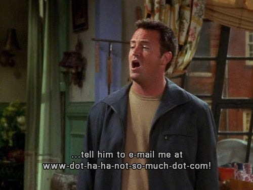 The 33 Best Chandler Bing One Liners