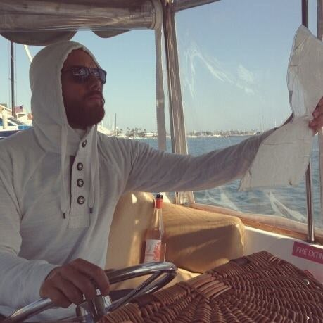 @dalkaveli is mapping and charting #onaboat. Thanks to Esri, he's never lost.