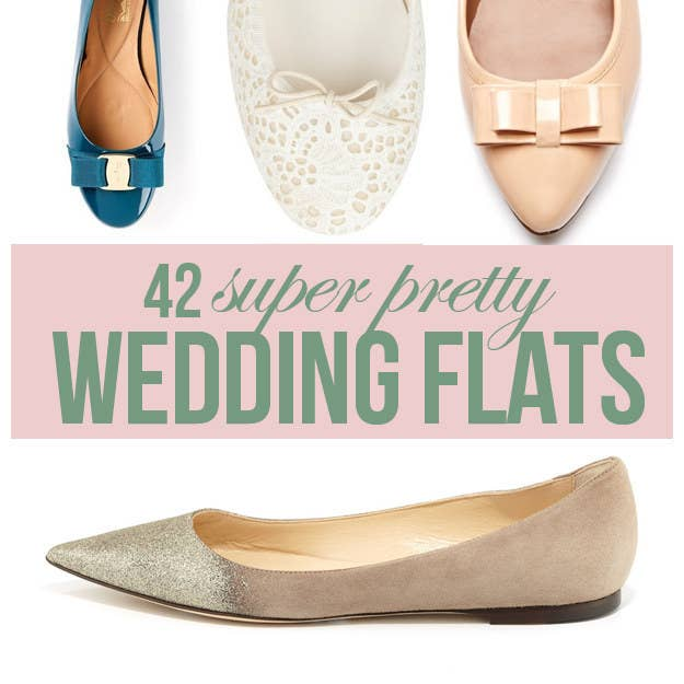 42 Pairs Of Wedding Flats To Keep You Comfy & Cute On Your Big Day