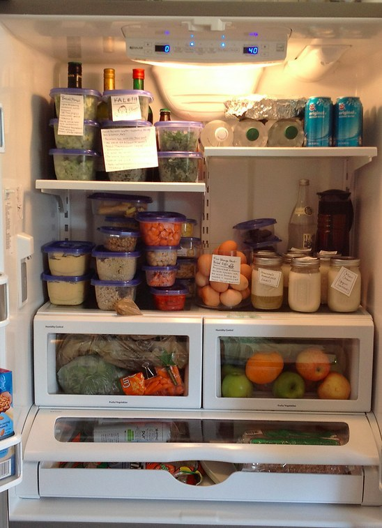 Stock the couple's post-honeymoon fridge: