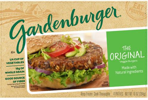 Great Gardenburger Original Veggie Burger