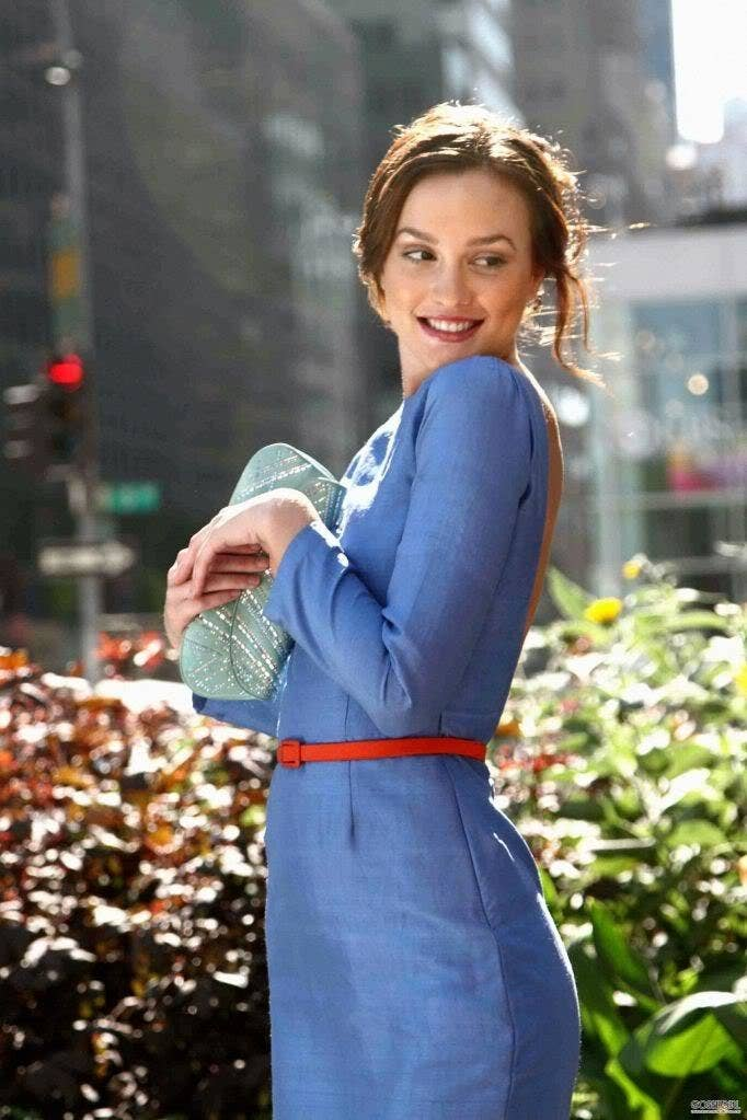 Blair Waldorf Blue Wedding Dress - Wedding Dress & Decore Ideas