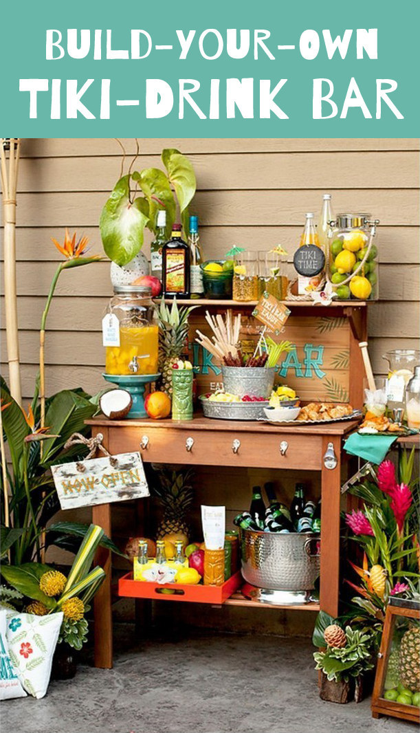 9 Ways To Set Up A Diy Drink Bar And Blow Your Friends Minds