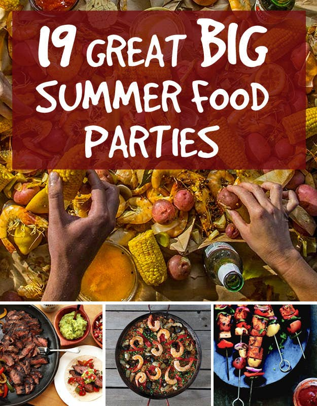 19 great ideas for big summer food parties share on facebook share forumfinder Images