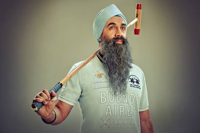 Gurbir Singh — Polo player