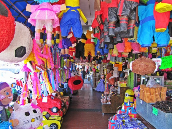 The oldest outdoor market in Tijuana and the best place to pick up souvenirs to take home.