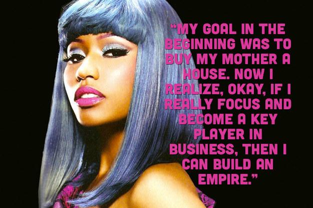 Nicki Minaj Pics With Quotes: 13 Nicki Minaj Quotes That Will Inspire You To #HUSTLE