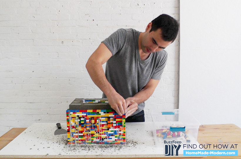 You 39 ve never seen lego used this way for How long should concrete cure before removing forms