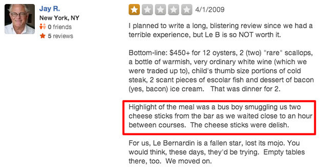 funny yelp reviews Funny Bad Hotel Reviews