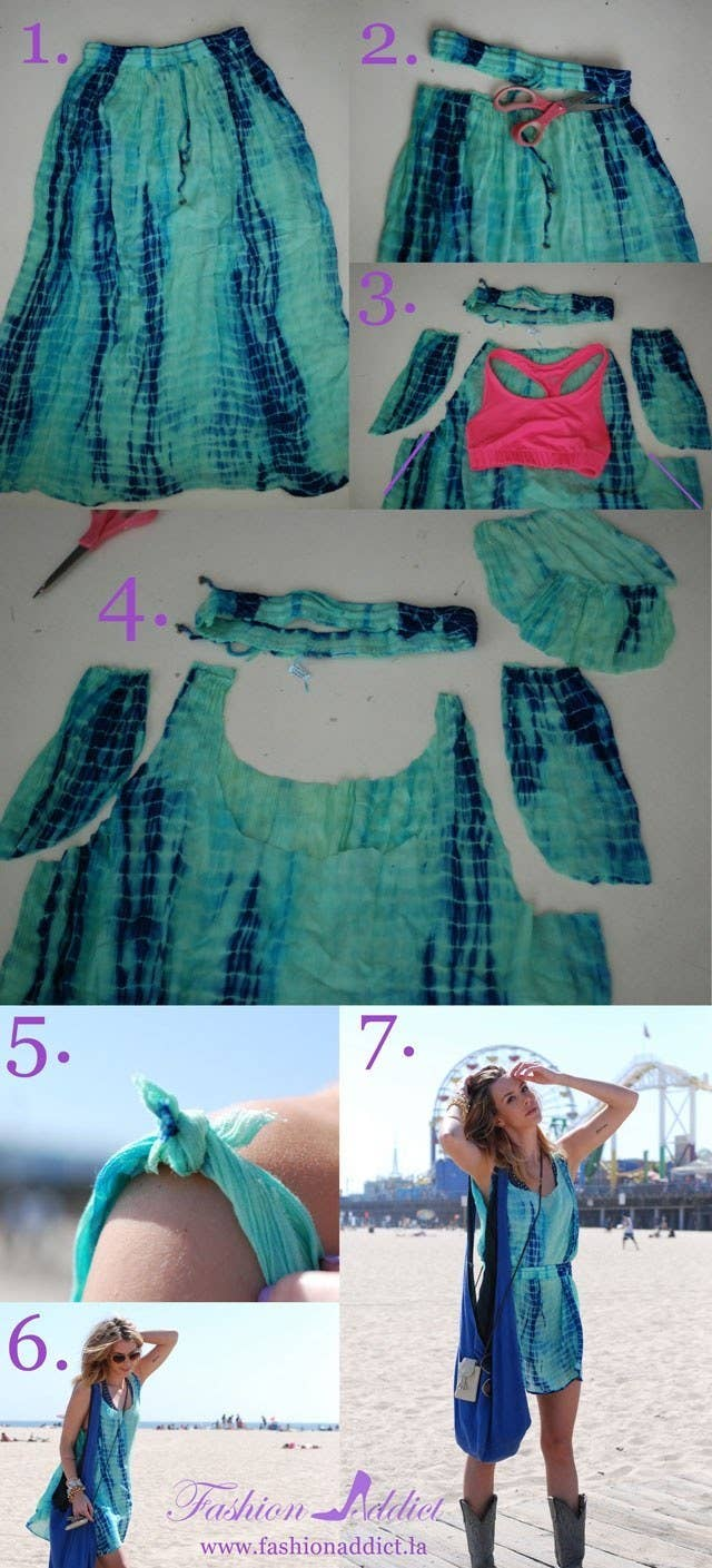 41 awesomely easy no sew diy clothing hacks find out how to do it here solutioingenieria Choice Image