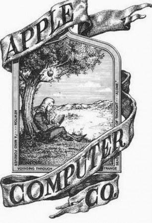 Apple's original logo featured Isaac Newton: