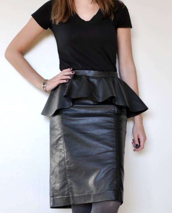 36bf150f32 Add a peplum to your favorite skirt for a totally new look.