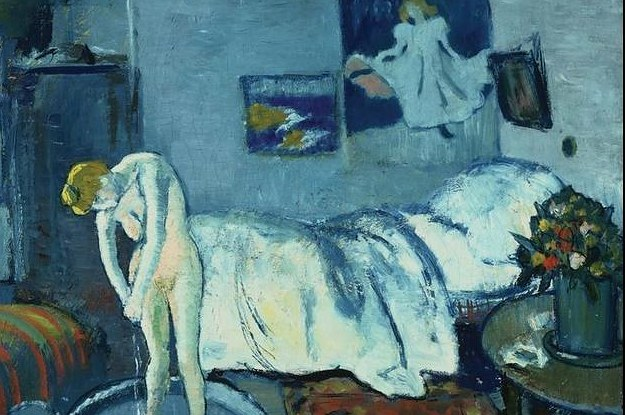 Hidden Painting Found Under Picasso\'s Masterpiece The Blue Room
