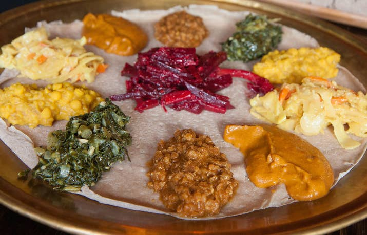 17 delicious ethiopian dishes all kinds of eaters can enjoy ethiopian beet salad is a tangy and delicious combination of marinated beets spice and forumfinder Images
