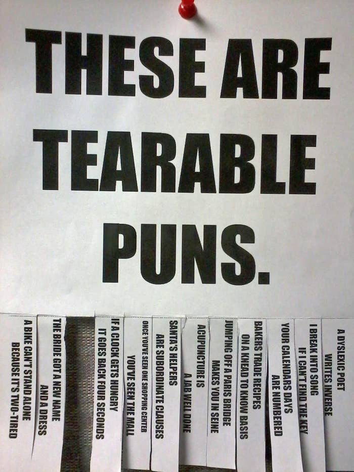 25 Puns So Terrible They Should Be Made Illegal