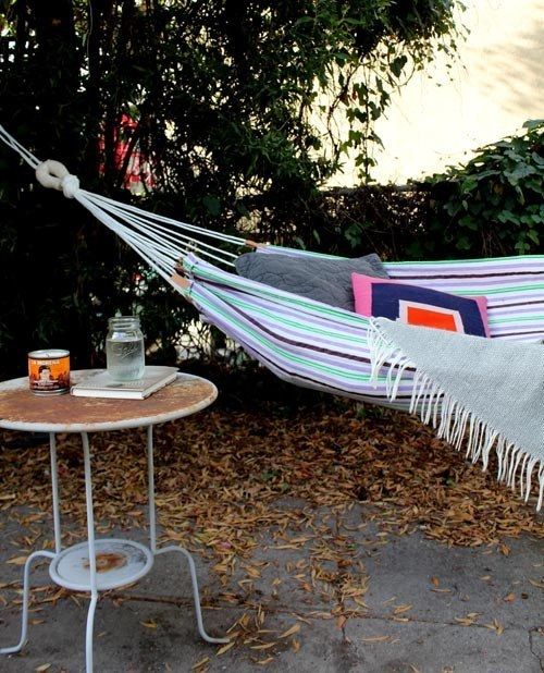This Simple Summer Hammock