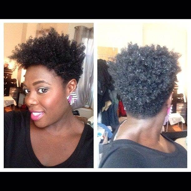20 Effortless Styles For Growing Out Your Natural Hair