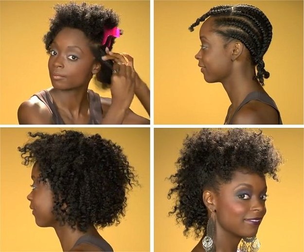Twist Out Styles On Natural Hair: 20 Effortless Styles For Growing Out Your Natural Hair