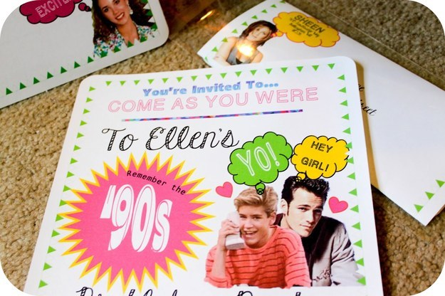 29 essentials for throwing a totally awesome 39 90s party for 90 s party decoration ideas