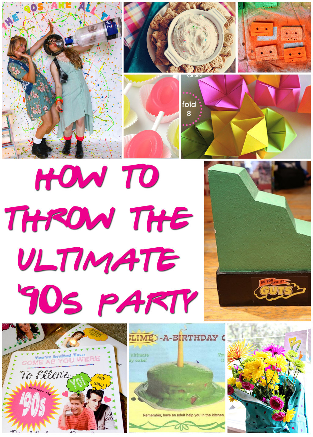 Share On Facebook Share ...  sc 1 st  BuzzFeed & 29 Essentials For Throwing A Totally Awesome u002790s Party