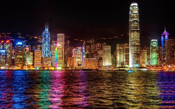 This Asian Stunner Is A Beautiful Bustling Behemoth The Night Time View Across