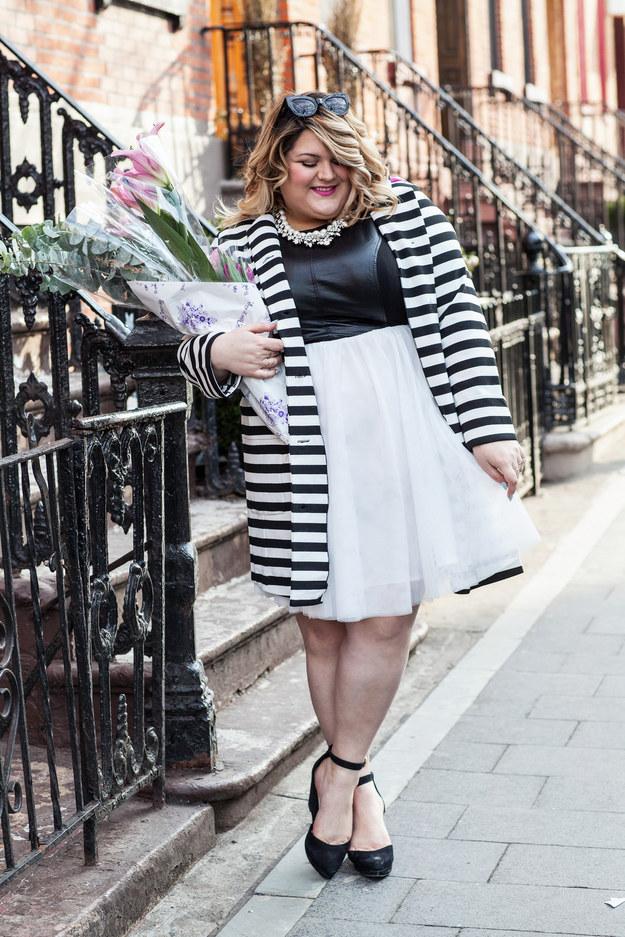 Trendy plus size fashion blog 75