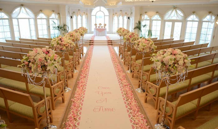 The Disney Wedding Pavilion At Grand Floridian Resort Is Most Famous Location Any