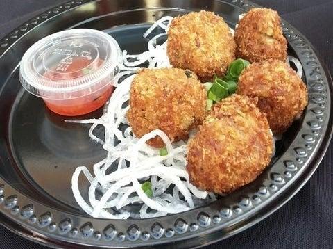 Spam Fried Meatballs